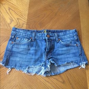 Original 7 for all mankind short jeans